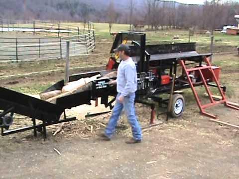 Turner Firewood Processor