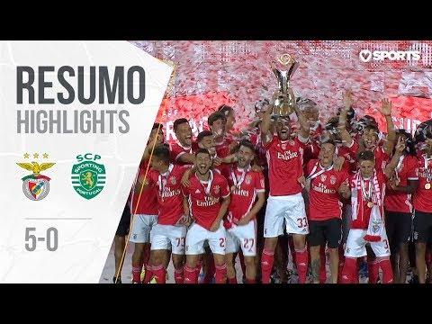 SL Benfica Lisabona 5-0 Sporting CP Clube de Portu...
