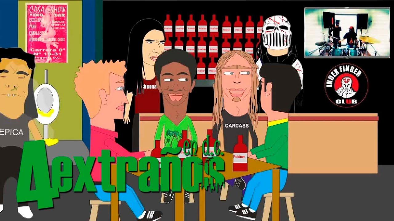 4 Extraños en D.C - Que le pasa a Jaimito - Video Cuentos de los Hermanos Grind
