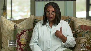 Whoopi Goldberg says she nearly died while battling pneumonia