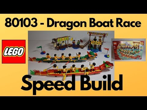 Lego - 80103 Dragon Boat Race - Speed Build
