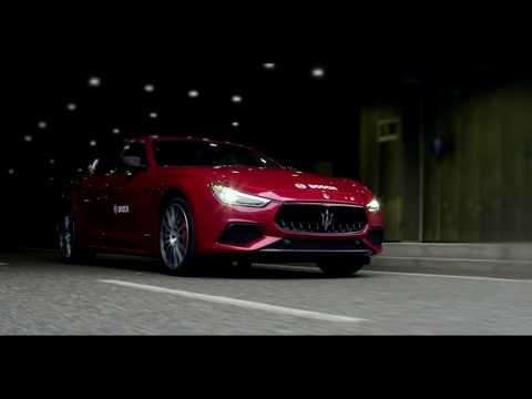 Boschs Autobahnassistent im neuen Maserati