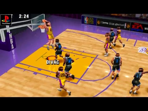 NBA Live 96 - Gameplay PSX / PS1 / PS One / HD 720P (Epsxe)