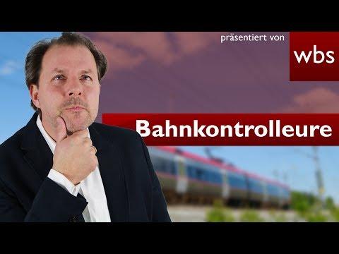 10 Dinge die Bahnkontrolleure nicht dürfen, aber trotzdem machen!   Rechtsanwalt Christian Solmecke