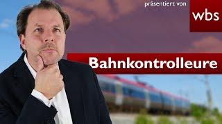 image of 10 Dinge die Bahnkontrolleure nicht dürfen, aber trotzdem machen! | Rechtsanwalt Christian Solmecke