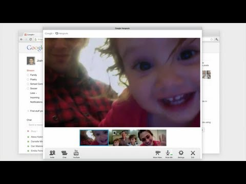 Image of New Google+ Commercial: Hangouts - Just hanging out together
