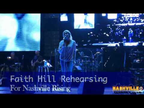 Faith Hill Jason Aldeanmore at Nashville Rising Benefit