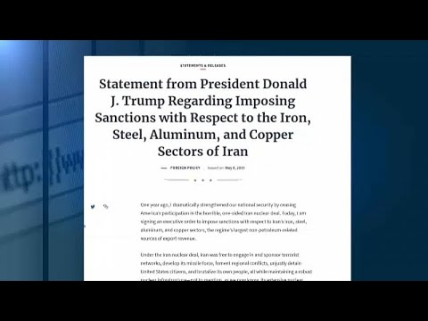 USA: Sanktionen gegen Irans Metallbranche wegen Atomstr ...