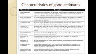 Project Estimation -- Techniques, Challenges and Best Practices