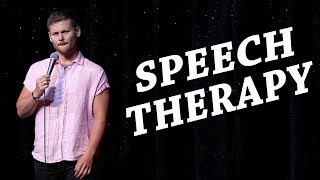 Drew Lynch Stand-Up: Speech Therapy Doesn't Work by Drew Lynch