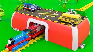 Video Colors for Children to Learn with Train and Vehicles - Educational Videos | Toy Trucks for Kids MP3, 3GP, MP4, WEBM, AVI, FLV Maret 2018