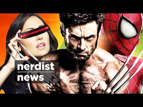 Jessica - It's an X-MEN News X-plosion with DAYS OF FUTURE PAST's final trailer and perhaps an X-Men and Spider-man friendship? Plus GOOGLE X's camera contact lenses, ...