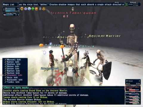 FFXI San d'Orian Mission 5-1 The Ruins of Fei'Yin