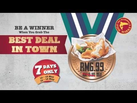 The Manhattan FISH MARKET Malaysia - Best Deal In Town Challenge 2016