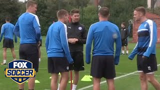 Mess up at Leicester City training and this is what you get by FOX Soccer