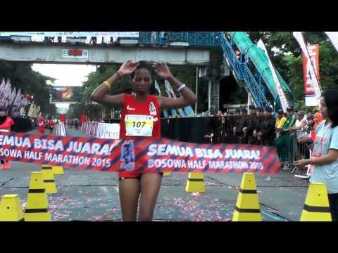 Bosowa Half Marathon 2015