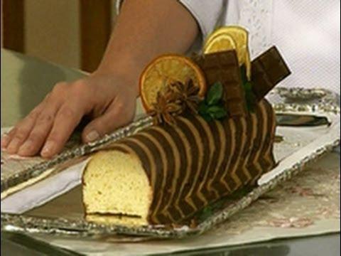 Los clásicos - Panque de naranja con chocolate