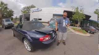 Autoline's 2011 Mazda MX-5 Miata Touring  Walk Around Review Test Drive