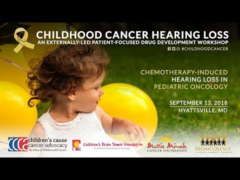 Childhood Cancer Hearing Loss PFDD Meeting (Full Program)