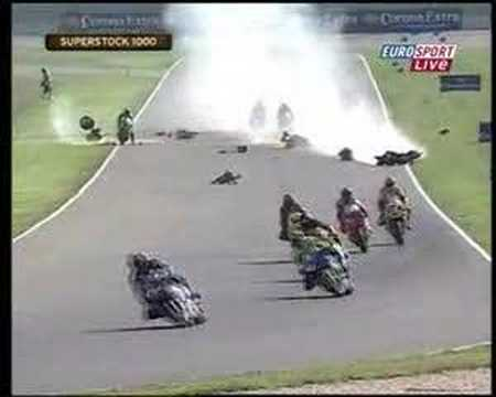 european superstock crash