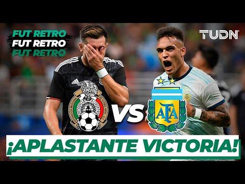 ¡Argentina humilla a México! | México 0-4 Argentina | Amistoso Internacional | TUDN