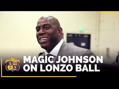 Video: Magic Johnson On Lonzo Ball And His Potential To Attract Free Agents