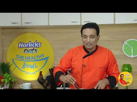 Sweet Pongal and Apple Shake with Horlicks Oats
