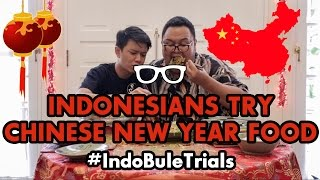 Video #IndoBuleTrials: Indonesians Try Chinese New Year Food MP3, 3GP, MP4, WEBM, AVI, FLV Juni 2019