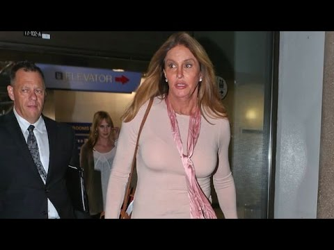 New Relationship? Caitlyn Jenner And Girlfriend Zackary Druck Arriving At LAX