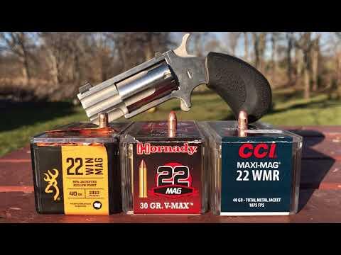 NAA 22 mag pug ammunition test aftermath