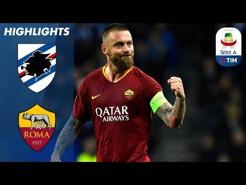 Sampdoria 0-1 Roma | De Rossi Leaves it Late to Score in Roma Victory! | Serie A - Thời lượng: 4 phút, 15 giây.