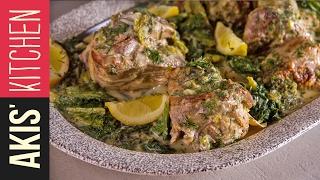 Greek Lamb Fricassee  | Akis Kitchen by Akis Kitchen