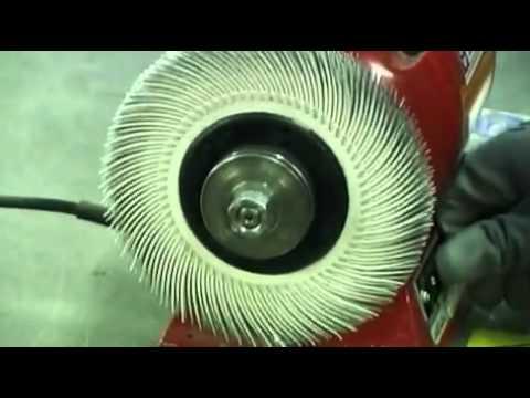 גלגלי בריסטל למכונה שולחנית 3M