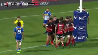 Crusaders v Stormers Rd.9 Super Rugby Video Highlights 2017