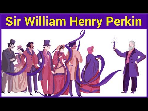 Sir William Henry Perkin Google Doodle
