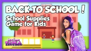 Get ready for the first day of school, Back to School