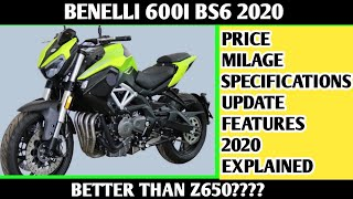 2. 2020 Benelli TNT 600i BS6 Launch | Changes | Price & Details |specifications