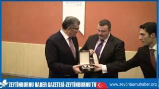 Zeytinburnu MeclisÜyelerine Murat Aydın Hizmetlerinden Dolayı Plaket Verdi