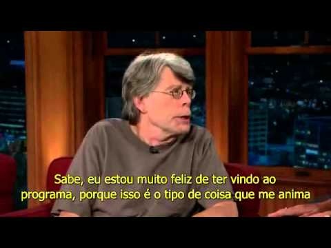 Entrevista de Stephen King para o The Late Late Show