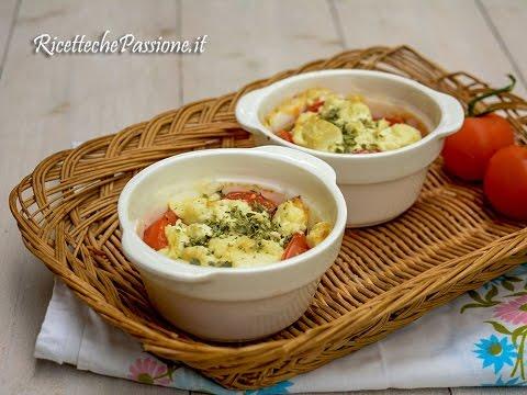 pomodori con feta e origano al forno - ricetta