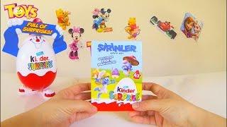 ToysTV kanalimda yeni videom - Şirinler KAYIP KÖY Oyuncakları ile Kinder Sürpriz Yumurta Açıyorum! Bu videomda Şirinler 3 Filmi KAYIP KÖY oyuncaklı KİNDER SÜRPRİZ YUMURTA Paketi açıyorum! 4 farklı sürpriz yumurta bu videomda!Şirinler'in yeni macerasında ekip yine bir görev uğruna yollara koyulur. Gizemli bir harita ortaya çıkar ve gizli bir köyün yerini işaret eder. Bunun üzerine bu köyün güvenliği artık Şirinler'in ellerindedir. Şirine, Gözlüklü Şirin, Sakar Şirin ve Güçlü Şirin gizemli ormanda yolculuk ederek bu köyü keşfetmeye karar verirler. Ancak kötü kalpli Gargamel'in de bu haritadan haberi olur ve o da bu gizemli köyün peşine düşer. Artık bu köyü Gargamel'den önce bulmak Şirinler'in en büyük görevi haline gelir. Bu yolda Şirinler tarihinin en büyük gizemini de çözeceklerdir...İlk iki filmin başarısından sonra yapım ekibi serinin üçüncü filmi için de mutfağa girdi. Sony Pictures Animasyon stüdyolarından çıkma olan senaryosu Karey Kirkpatrick ve Chris Poche'a emanet.http://www.beyazperde.com/filmler/film-207486/Kinder Surprise 'ın büyüsü…. Kinder Surprise, tek bir yumurta içinde Kinder Çikolatasının mükemmelliğini, bir sürpriz heyecanını ve bir oyuncak sevincini içerir. Bu üç faktörün birleşimi, annelerin içini rahat ettiren ve çocukların da hayal güçlerini geliştirmelerine yardımcı olan bir neşe ve eğlence dünyası yaratır. http://www.kinder.com.tr/tr/kinder-surpriseLa magia de Kinder Sorpresa…. Kinder Sorpresa combina el delicioso chocolate Kinder, una sorpresa y un juego siempre nuevo en un único huevo. La combinación especial de Kinder Sorpresa ha creado un mundo de diversión y entretenimiento que ayuda a los niños a desarrollar su imaginación y a la vez, la confianza de los padres gracias al gran chocolate Kinder. http://www.kinder.es/es/kinder-sorpresaKinder Überraschung weckt die Neugier immer wieder neu – mit Vorfreude, Spannung & Kribbeln… Das Kinder Überraschungs-Erlebnis besteht aus vielen Facetten: Die Spannung beim Auspacken des Eis, die leckere Sc