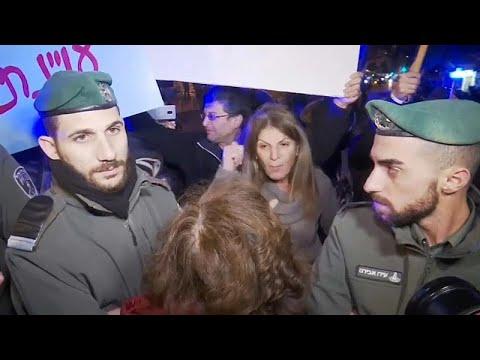 Israel: Kundgebungen für und gegen Ministerpräsident  ...