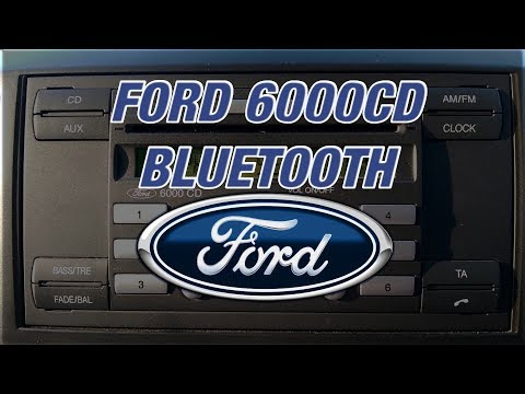 998a897b6f2 Ford 6000CD Bluetooth - Delete & Add Phones ☎