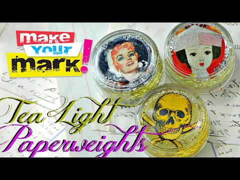How to Create Glass Paperweights DIY