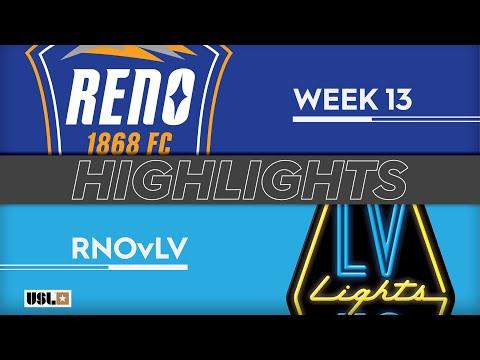 Reno - Las Vegas Lights 4:0. Видеообзор матча 02.06.2019. Видео голов и опасных моментов игры
