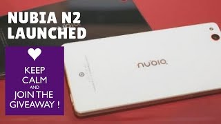 """Nubia N2 - New ZTE Nubia N2 makes way to India Here is the Nubia N2 ReviewNubia N2 unveiled in India Nubia N2 Price in India Specs Amazon ExclusiveBefore watching Nubia N2 unboxing watch this Nubia N2 ReviewNubia N2 With 5000mAh Battery Launched in India: Price, Release Date, Specifications, and More. ZTE brand Nubia on Wednesday launched the Nubia N2 selfie-focused smartphone in India. The Nubia N2 sports a 16-megapixel, its highlight feature, apart from a massive 5000mAh battery that's said to deliver up to 60 hoursof talk time and up to 3 days of standby time. It was launched alongside the Nubia M2 and Nubia M2 Lite in March. The smartphone will be made available to purchase exclusively via Amazon India from 12pm IST on Wednesday itself, in Champagne Gold and Black Gold colour variants.The Nubia N2 price in India is Rs. 15,999. The dual-SIM (Nano+Nano) smartphone is built out of aluminium. It runs Nubia UI 4.0 based on Android 6.0 Marshmallow and sports a 5.5-inch HD (720x1280 pixels) AMOLED display with a pixel density of 267ppi, 2.5D Curved Glass, and On-Cell lamination. It is powered by an octa-core MediaTek MT6750 SoC (four Cortex-A53 cores clocked at 1.5GHz and four Cortex-A53 cores clocked at 1GHz)that's coupled with 4GB of LPDDR3 RAM.As for the cameras on the Nubia N2, the smartphone sports a 13-megapixel Sony IMX258 sensor an f/2.2 aperture, dual-LED flash, and PDAF. On the front, the Nubia N2 bears a 16-megapixel Samsung 3P3ST sensor with an f/2.0 aperture and an 80-degree wide-angle lens. The Nubia N2 offers 64GB of inbuilt storage that's expandable via microSD card (up to 128GB) in a hybrid dual-SIM configuration. Connectivity options include 4G VoLTE, dual-band Wi-Fi 802.11 a/b/g/n, Bluetooth v4.0, GPS/ A-GPS, 3.5mm audio jack, and USB Type-C port. It is powered by a 5000mAh non-removable battery. It measures 155x75x7.9mm, and weighs 180 grams.Commenting on the launch, Eric Hu, Country Head, Nubia India said, """"With every Nubia product that is introduc"""