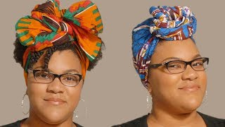 Let us wrap to you real quick! Here's a quick and easy headwrap-how-to!BoldlyBuzzFeedYellow has changed its name to Boldly. It's the same content you know and love just Bolder. Subscribe for daily videos about beauty, fashion, body positivity, and to join a community of incredible women working to empower and inspire each other.Credits: https://www.buzzfeed.com/bfmp/videos/21601Check out more awesome videos at Boldly!https://bit.ly/2p6kiZuhttps://bit.ly/2nbQuy4https://bit.ly/publyGET MORE BUZZFEED:https://www.buzzfeed.comhttps://www.buzzfeed.com/videoshttps://www.youtube.com/buzzfeedvideohttps://www.youtube.com/boldlyhttps://www.youtube.com/buzzfeedbluehttps://www.youtube.com/buzzfeedviolethttps://www.youtube.com/perolikehttps://www.youtube.com/ladylikeMUSICLicensed via Audio NetworkEXTERNAL CREDITSThe Wrap Life thewrap.life +Krystine Green elinorah.com