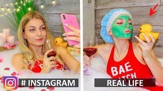 Video Instagram vs Real Life & Funny Facts! Phone Photo Hacks MP3, 3GP, MP4, WEBM, AVI, FLV April 2019