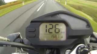 2. BMW G 650 Xcountry - acceleration
