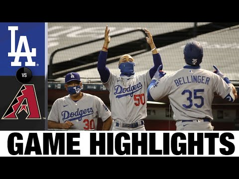 Clayton Kershaw, Cody Bellinger shine in Dodgers' 3-0 win | Dodgers-D-Backs Game Highlights 8/2/20